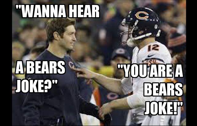 Cutlerjoke Jpeg 640 410 Bear Jokes Packers Vs Bears Jokes