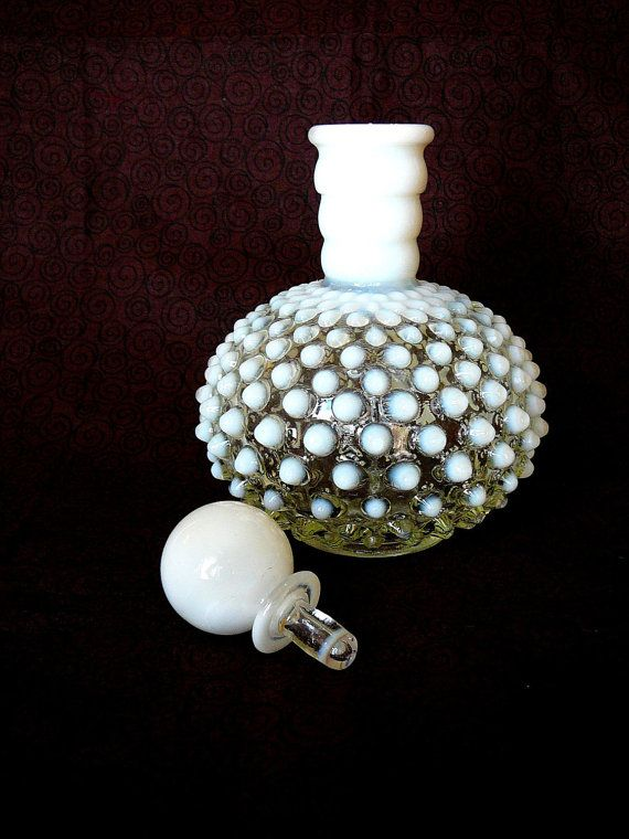 Vintage Moonstone Perfume Bottle