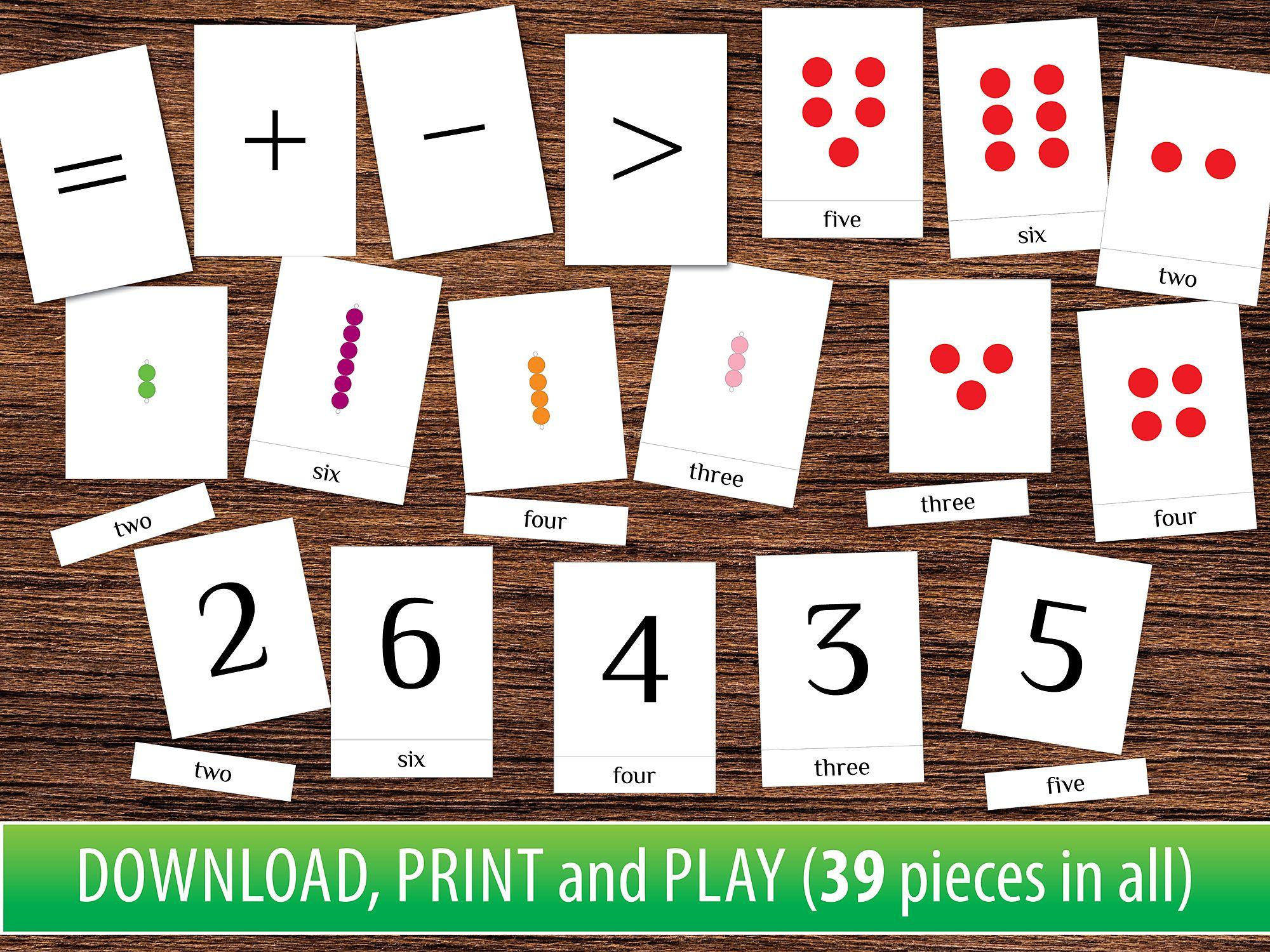 Number 1 10 Matching Game Educational Etsy Activities For Kindergarten Children Kindergarten Kids Preschool Kindergarten [ 1500 x 2000 Pixel ]