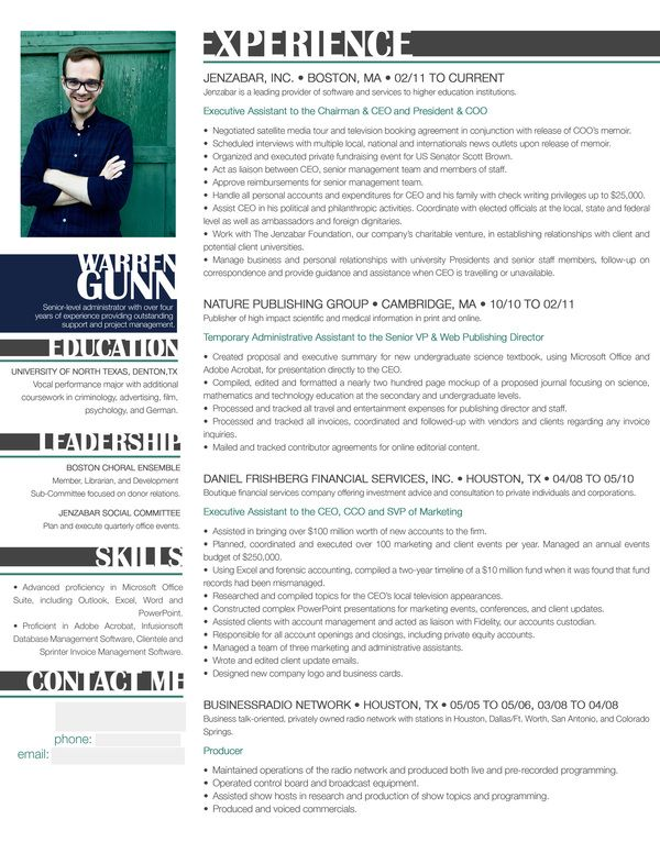 Check Out One Of My New Resume Designs By Tracy Elizabeth Smith Via