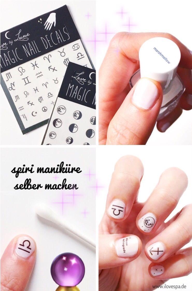 DIY Minimal Manicure #5 - Spiritual - Maniküre für Spirit Junkies ...