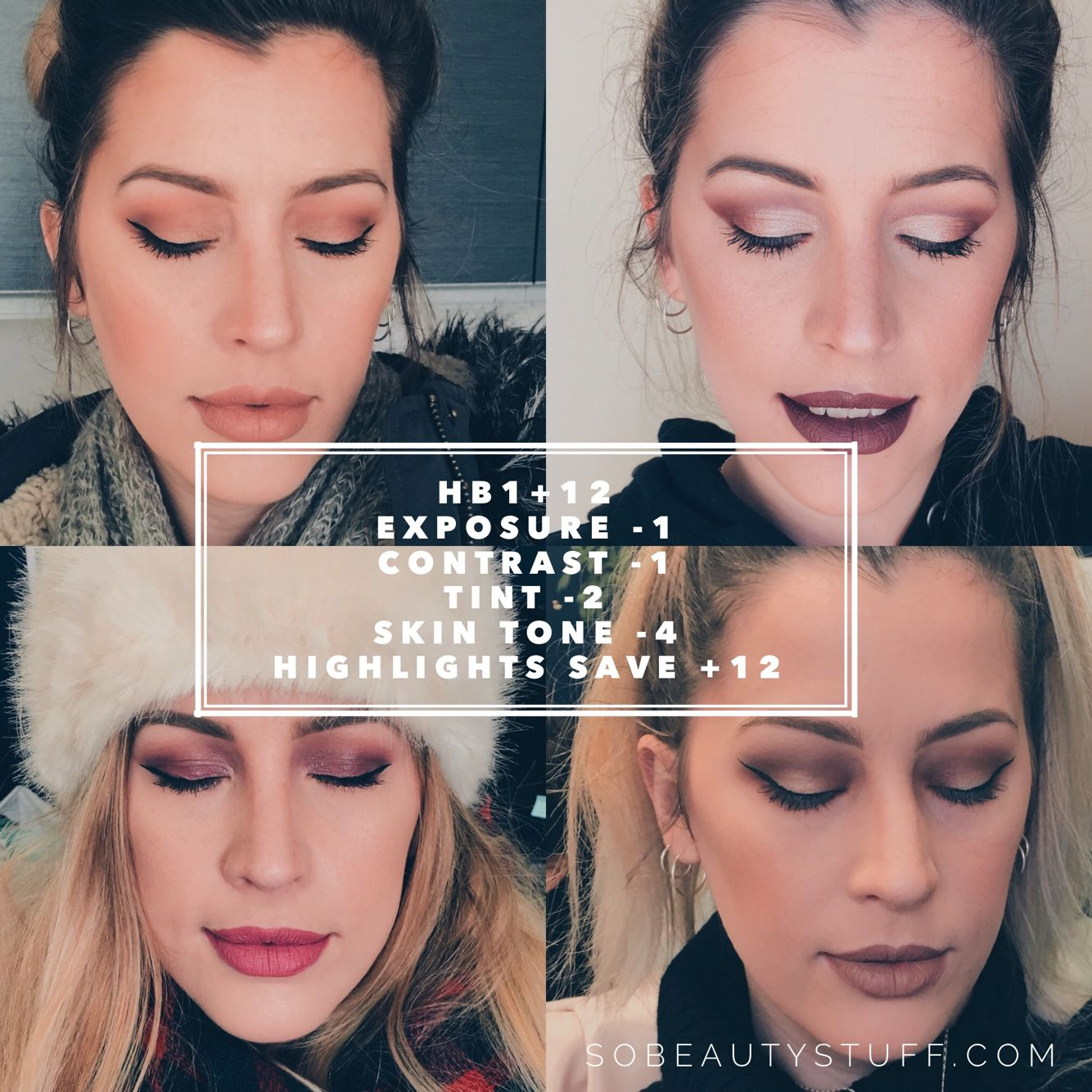 Best VSCO filter for Instagram makeup portraits and