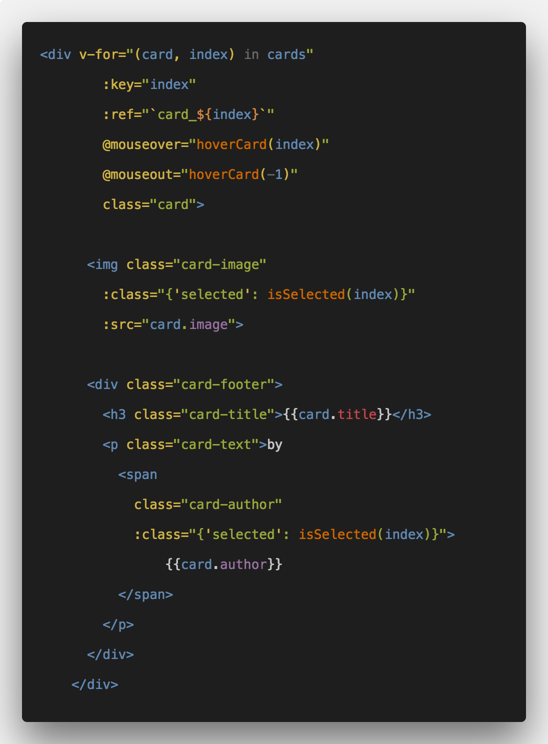 How To Create Hover Animation In Vuejs em 2020