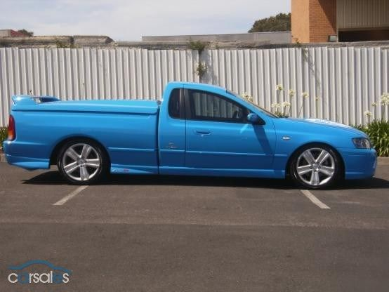 Car For Sale 2003 Ba Falcon Ford Ute On Dual Fuel With Images