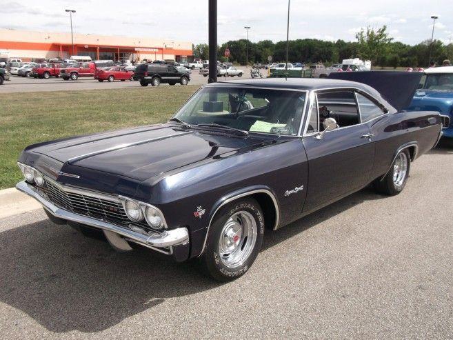 1966 Popular Best Black Chevrolet Impala Super Sport For Sale 1966