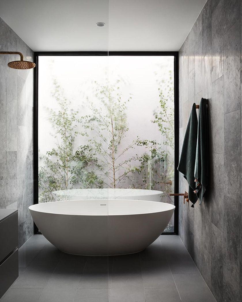 Awesome 55 Delightful Bathrooms Design Ideas In Australia More At Https Decoratrend Com 20 Bathroom Interior Design Modern Interior Design Bathroom Interior