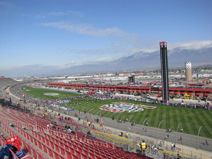 Auto club speedway fontana california places we 39 ve been for Motor speedway los angeles