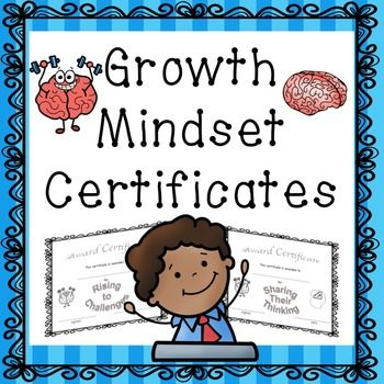 Are you looking for some end of the year awards? Do you like to give monthly certificates? Are you wanting to help foster a growth mindset in your students? Well, these 15 certificates can do just that. This set has certificates with 15 different growth mindset achievements such as: Rising to Challenges and Making Reasonable Goals.
