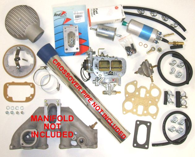 TurboDatsun Carby Kit for Z24 - add a turbo kit and you