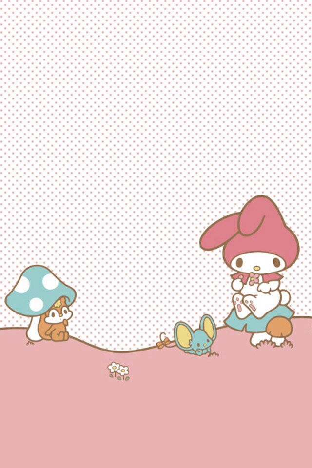 My Melody Background | note pad | Sanrio Cute wallpapers ...