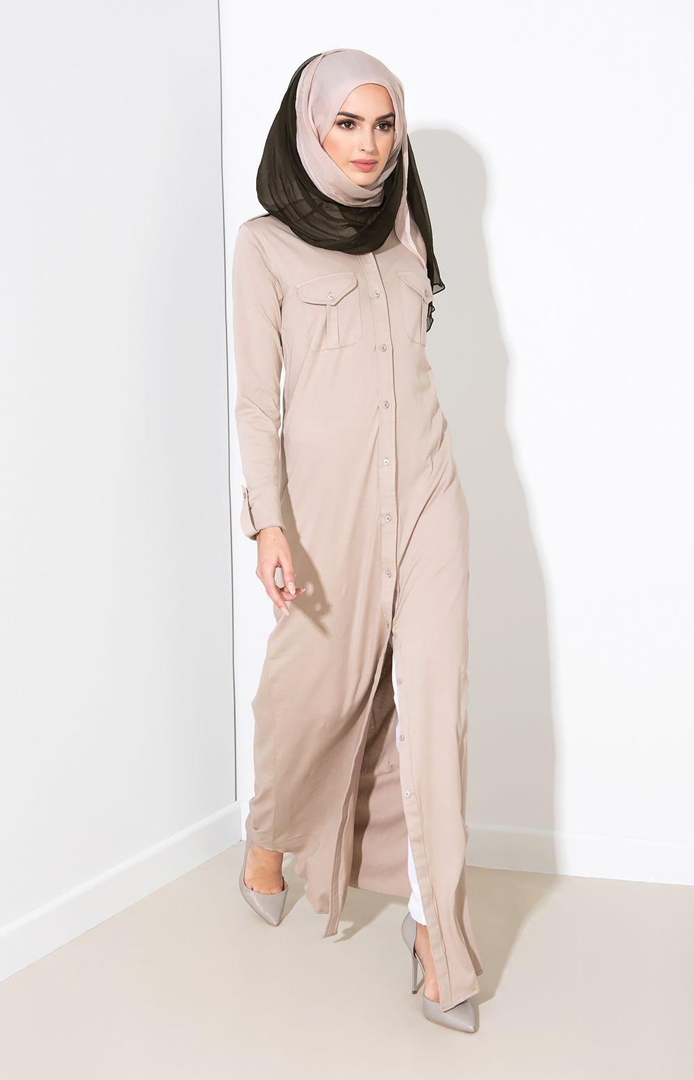 Aab uk long shirt ice coffee standard view fashion islamic