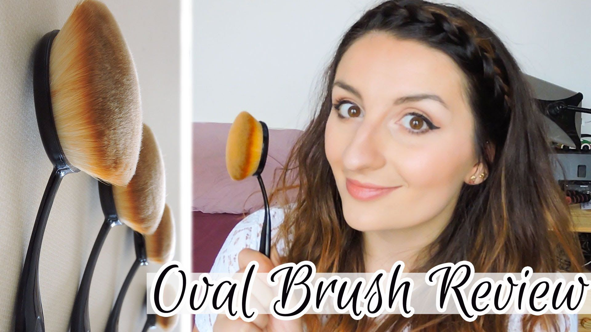 Oval Brush Review My Makeup Brush Set Meliaa My