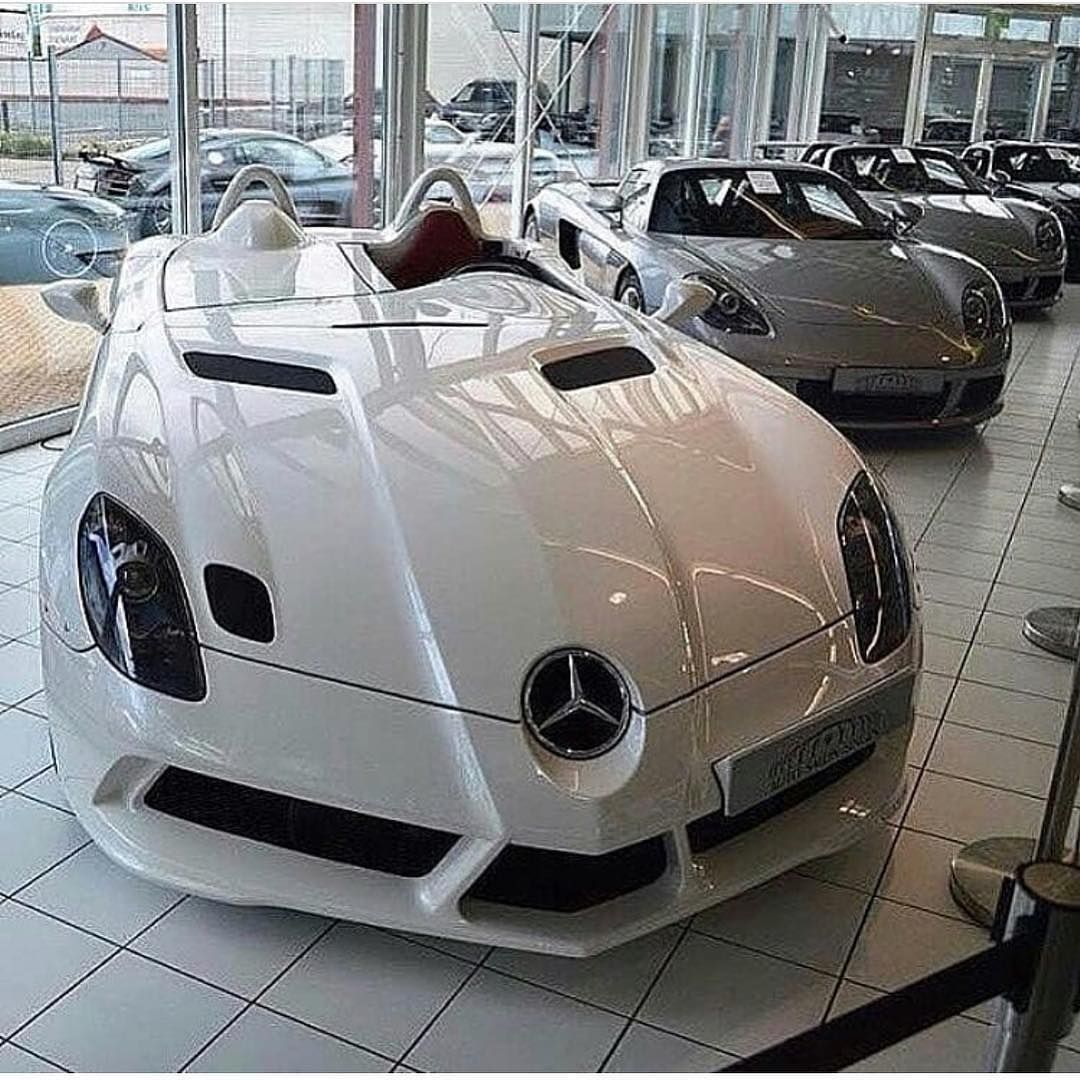 Mercedes Benz Slr Mclaren Stirling Moss Sports Coupe Supercars On