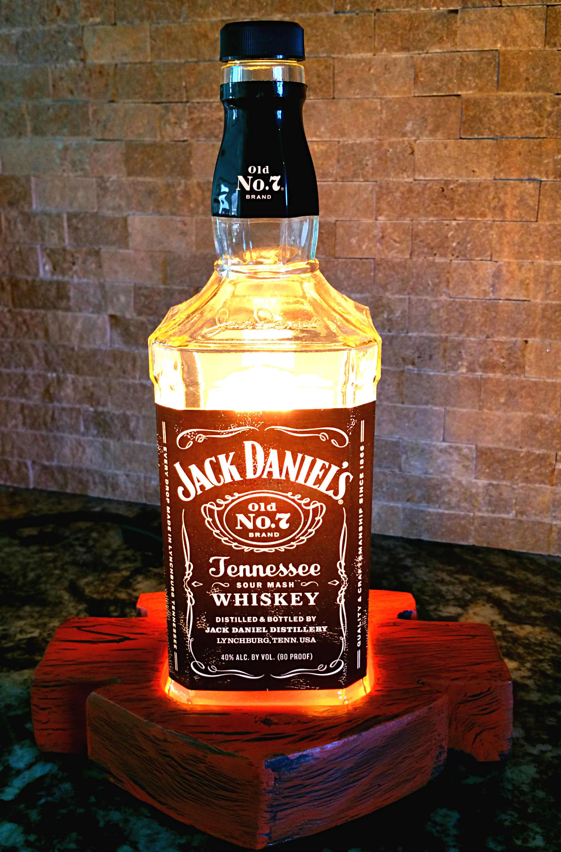 Repurposed Jack Daniels Harley Davidson Lamp Www.madebyrocco.com
