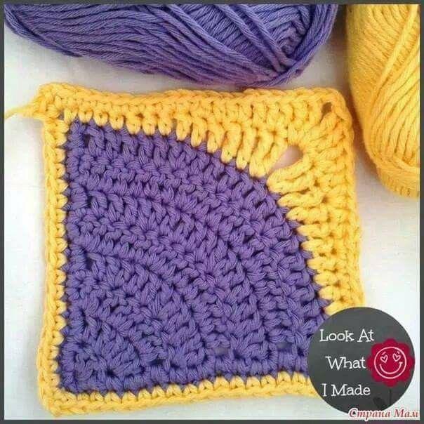 Pin de Carmen Obando en Cuadritos en crochet   Pinterest   Cuadro