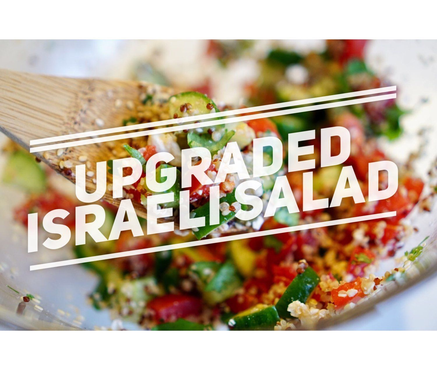 Israeli Salad #athletefood Athlete Food Israeli Salad #athletefood