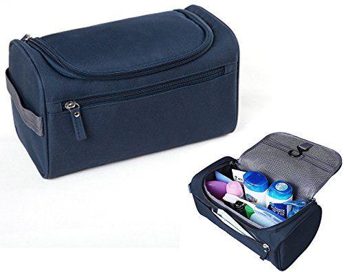 iSuperb Hanging Toiletry Bag Travel Bag Water Resistant Lightweight Wash  Gym Shaving Bag Organizer for Men c1b3646dfdbcf