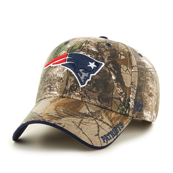 check out daba9 914a5 New England Patriots Realtree Frost Realtree 47 Brand Adjustable Hat