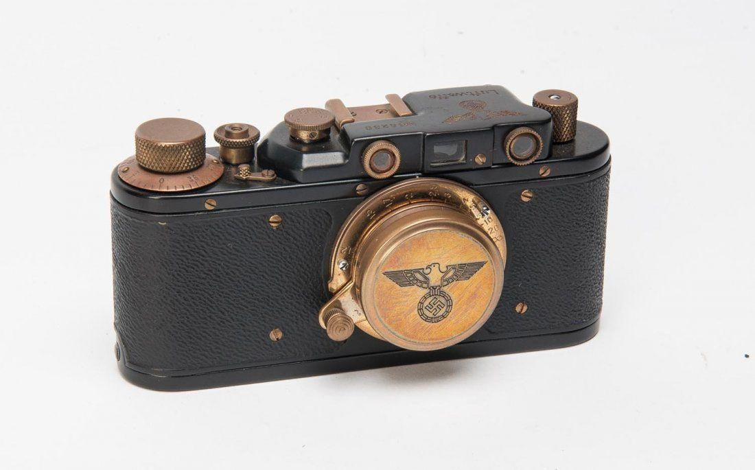 A Russian Leica IID copy with Luftwaffe markings. A fine example in excellent condition. #CameraDslrButtons