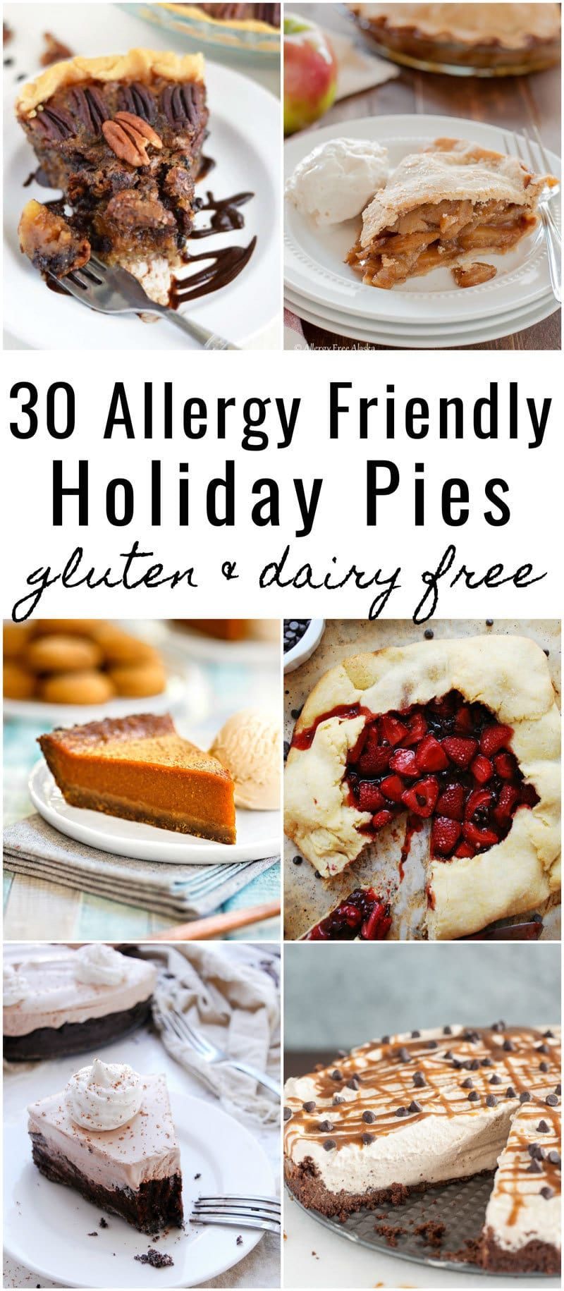 Holidays with food allergies shouldn't be stressful! If you're craving pie for T…