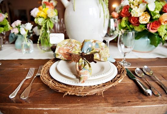 sweet for spring entertaining | Beautiful table settings ...