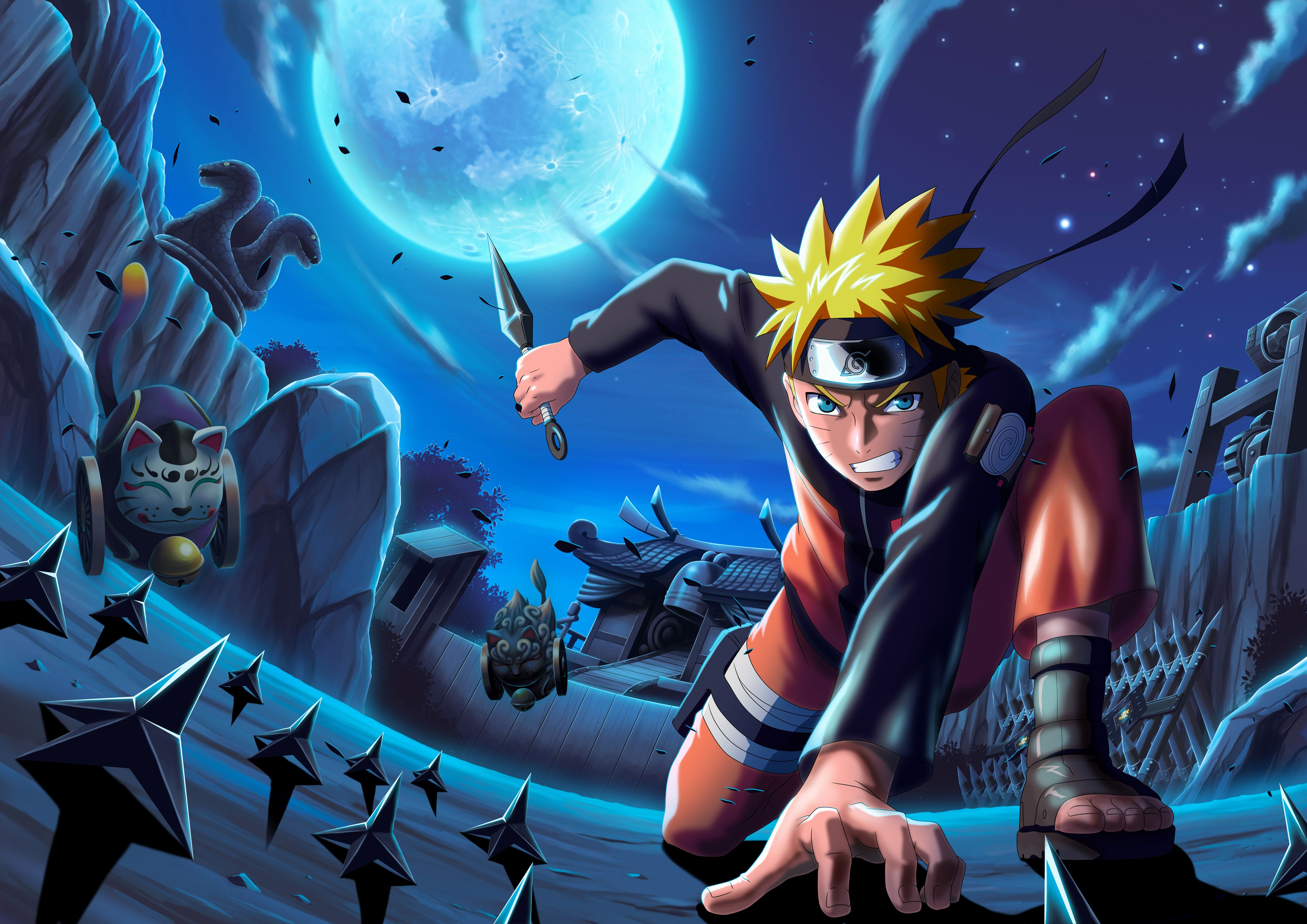 Naruto Shippuden Movie : The Lost Tower Subbed | なると