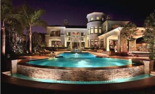 Cool House With Pool Mansions Luxury Homes