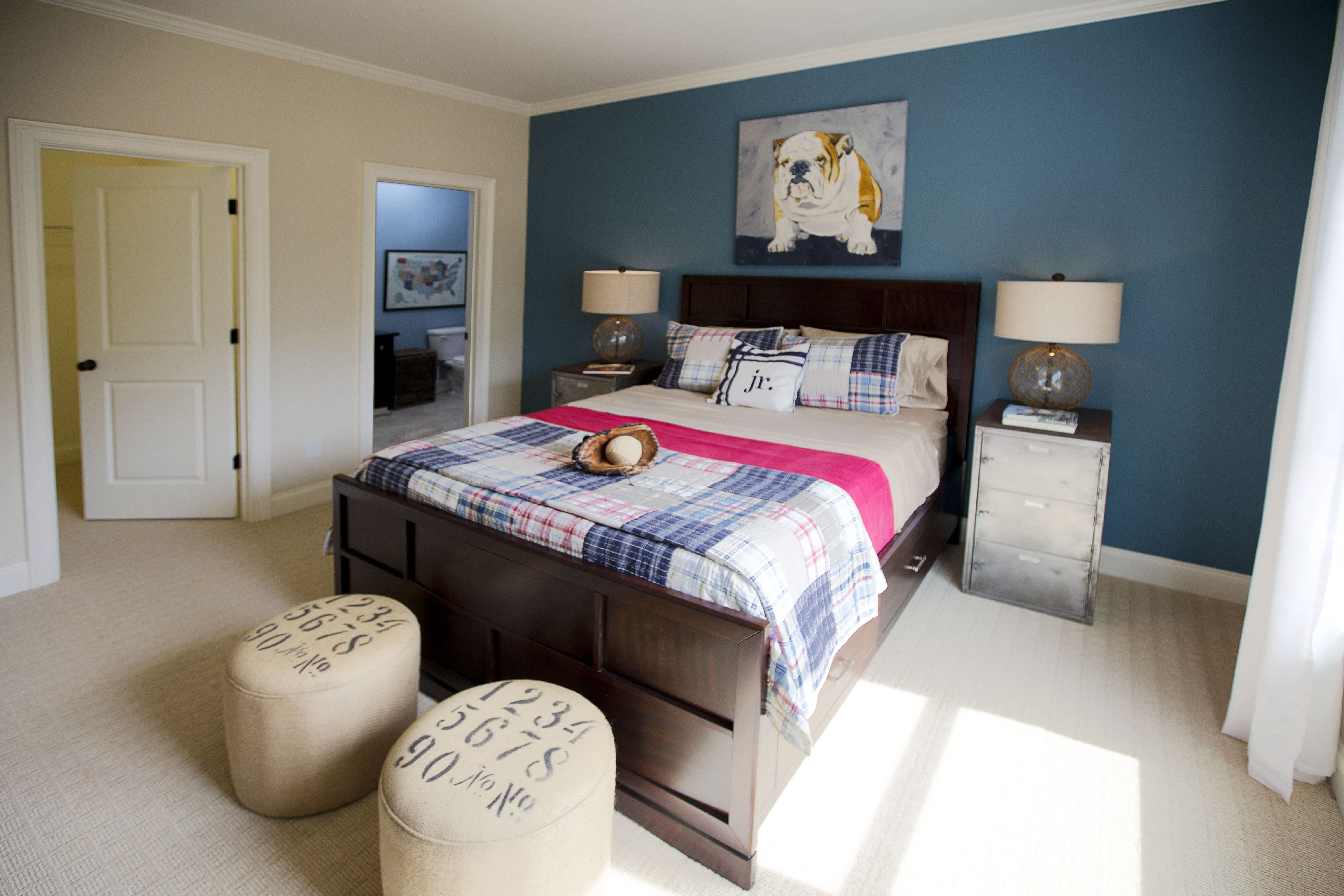 Stunning Hamilton MoKids Baseball themed Bedroom – Bridleton – via