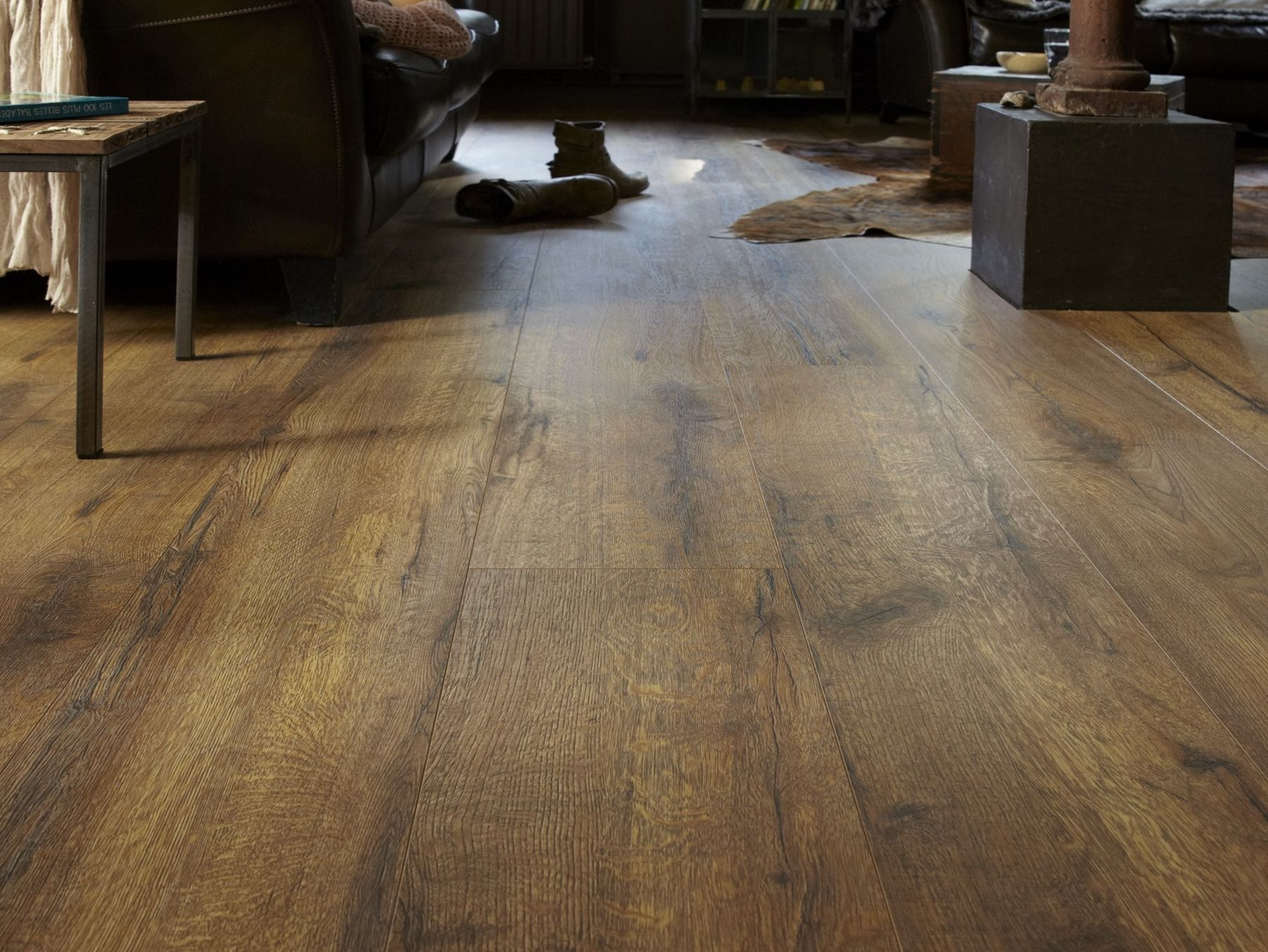 Laminate floor tiles LONG BOARDS Laminate Collection by