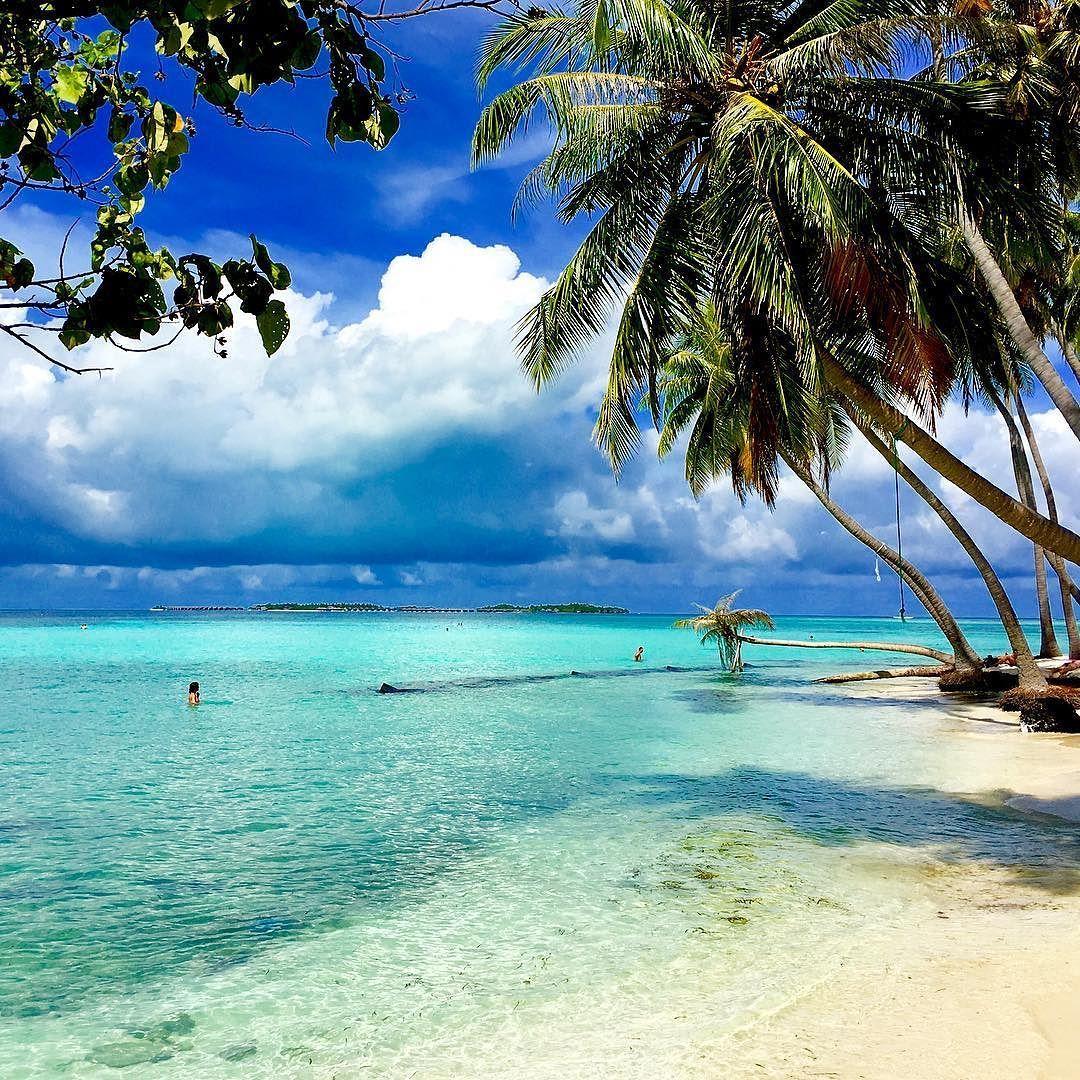 Sun Island Beach Maldives: This Is The Maafushi Island In The Maldives Located In The