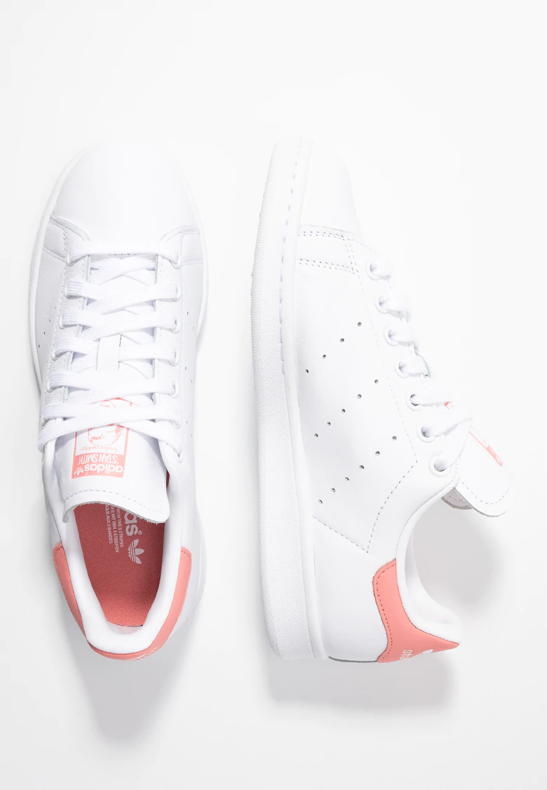 STAN SMITH - Joggesko - footwear white/tactile rose ...