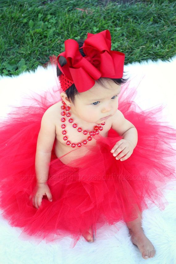 5 Layered Toddlers Tulle Tutu Skirt for Girls with Headband for Baby Girl Infant Tutus Set