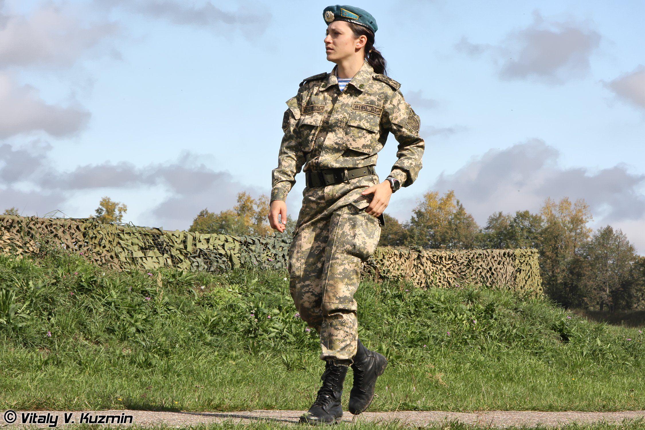 Russia Miitry Women Army Russian Troops Woman Wallpaper Background
