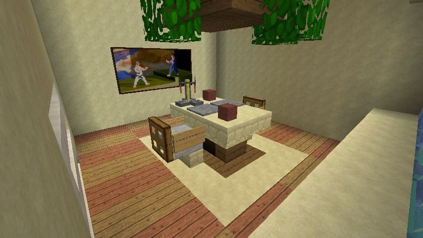 Minecraft Furniture Inspirations Dining Room Minecraftfurniture Minecraft Room Decor Minecraft Bedroom Decor Minecraft Room