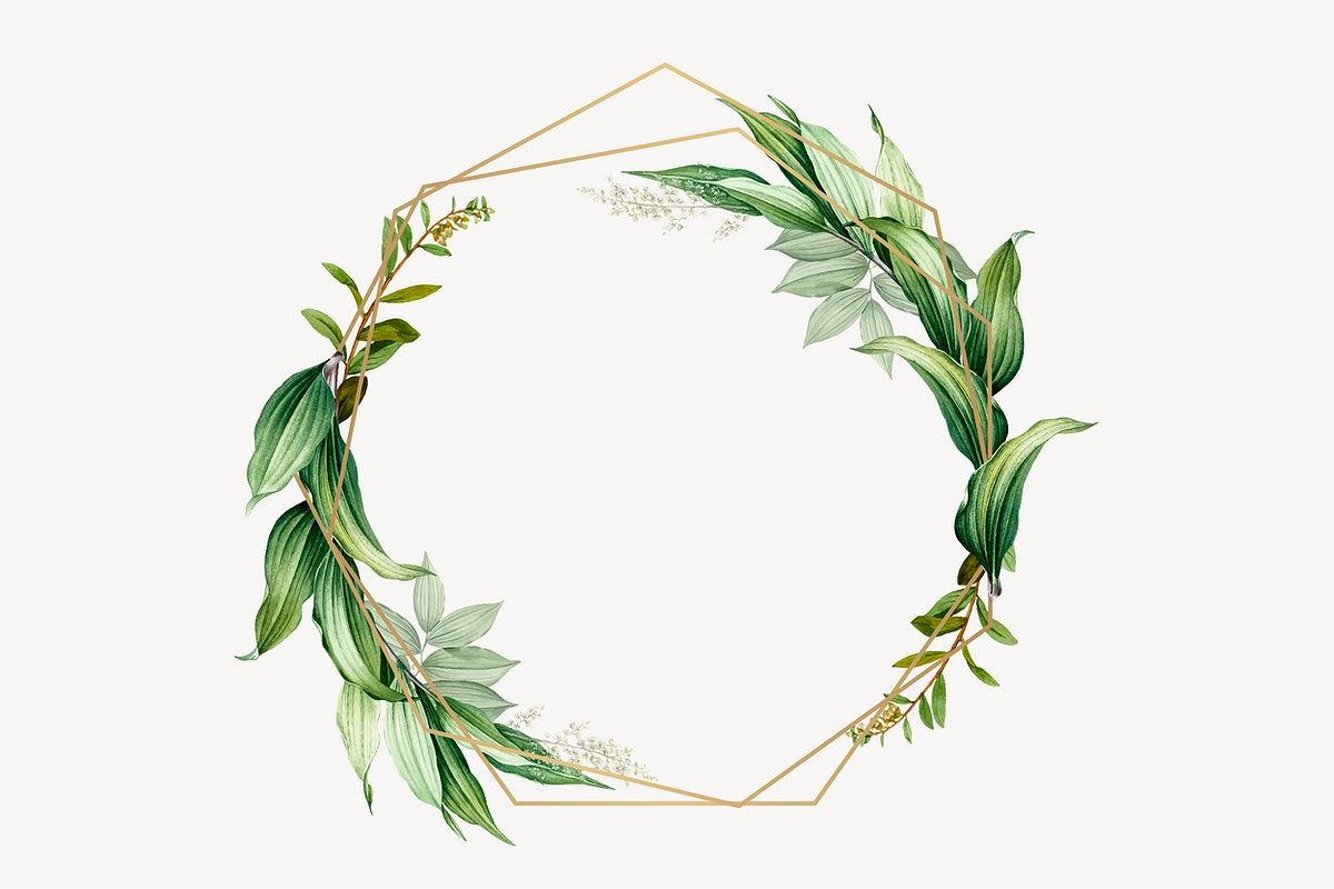 Tropical Botanical Frame Design Vector Premium Image By Rawpixel Com Kappy Kappy Flower Frame Frame Design Flower Background Wallpaper