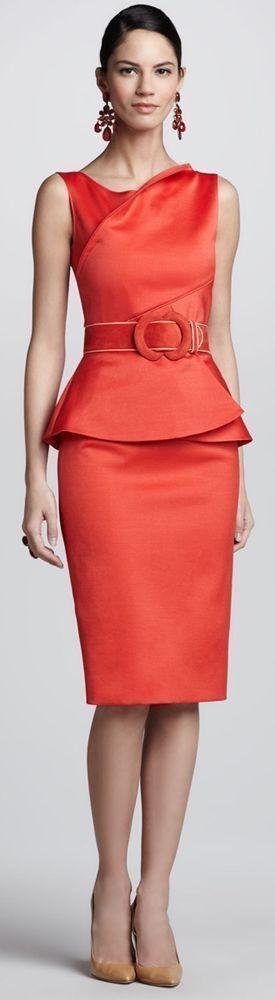 Sommer Outfits Frauen - rotes Kleid RORESS Kleiderschrank ...