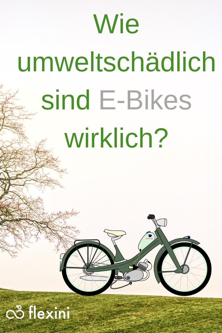 Sind E Bikes Umweltschadlich Oder Umweltfreundlich In Diesem