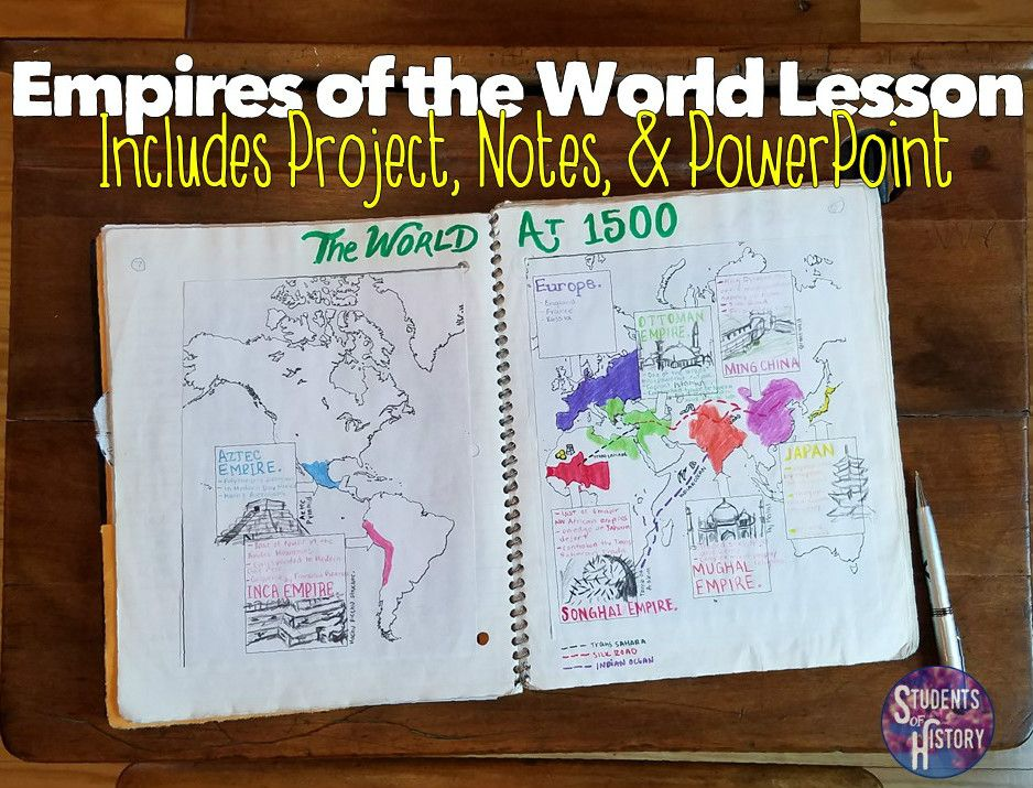 World empires in 1500 project map notes pinterest empire empires of the world at 1500 lesson includes map powerpoint readings and hand publicscrutiny Choice Image