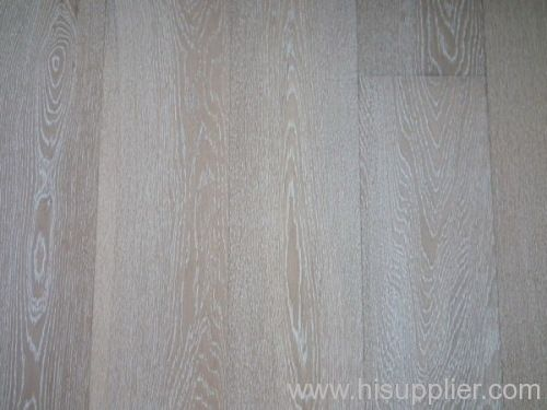 Brushedwhite Wash Oak Engineered Wood Flooring Manufacturer From
