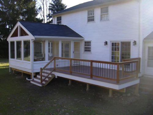Three Seasons Room Porch Design House With Porch Building A Porch
