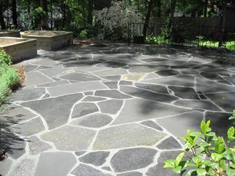 Kentucky flagstone patio #flagstonepathway Kentucky flagstone patio #flagstonepathway