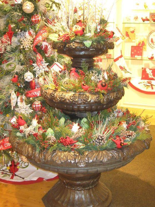 Christmas Winter Garden Winter Song