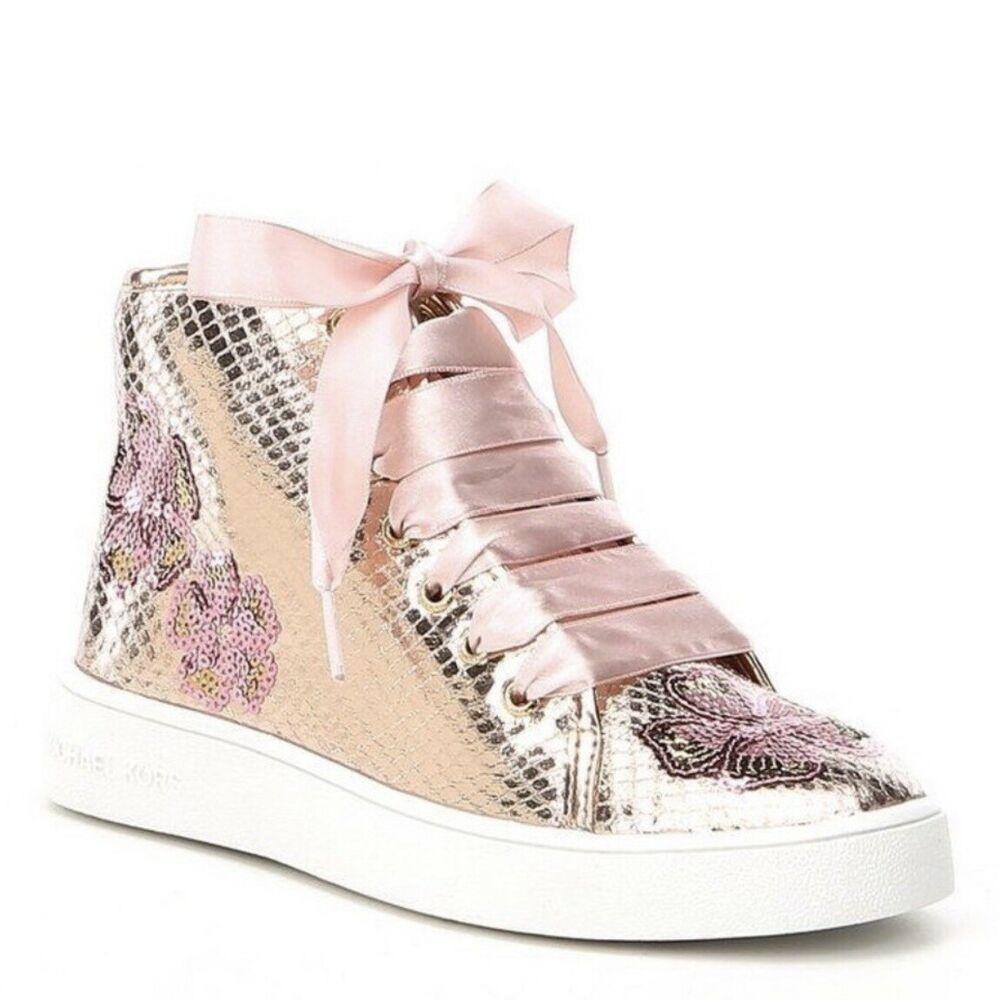 michael kors girls sneakers