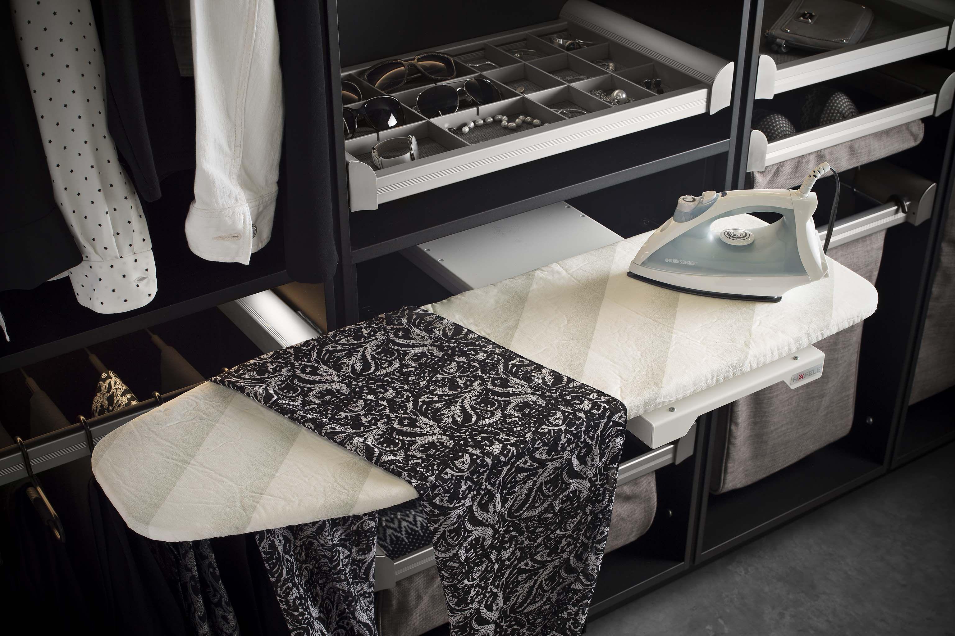 Hafele Ironfix Pull Out Ironing Board · Closet AccessoriesCloset  StorageCloset ...
