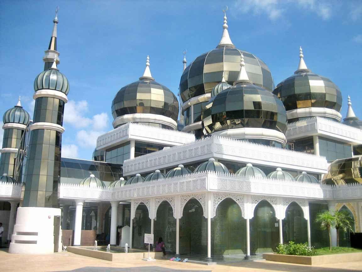 Masjid Kristal-Malaysia | Mosque, Beautiful mosques, Masjid