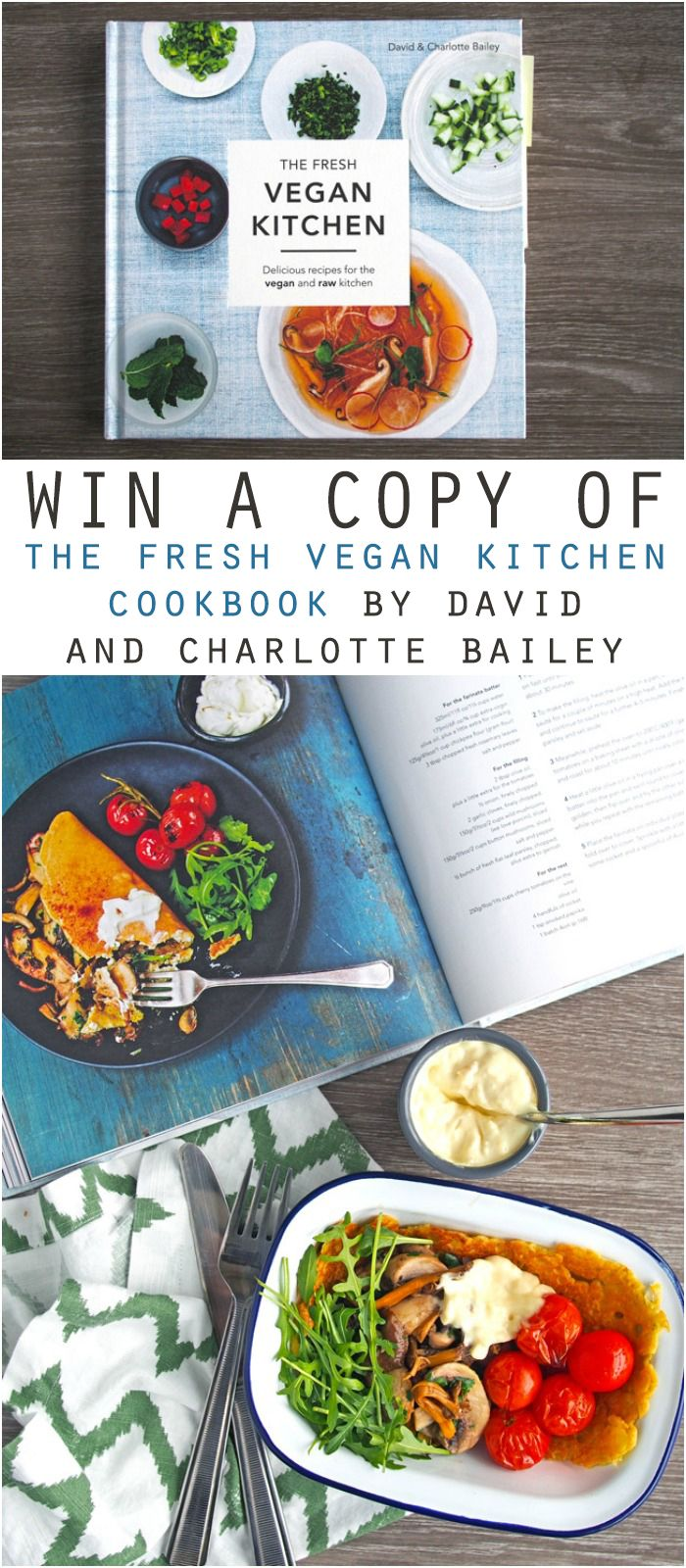 The Fresh Vegan Kitchen Cookbook Review Vegan Giveaways