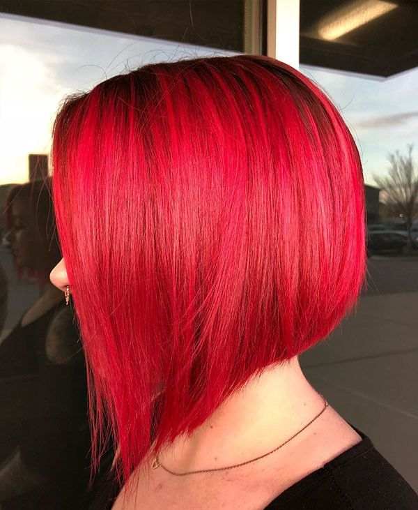 Red Bob Hair Best New Bob Hairstyles 2019 Bob Hairstyles Long Bob Hairstyles Bob Hairstyles For Thick