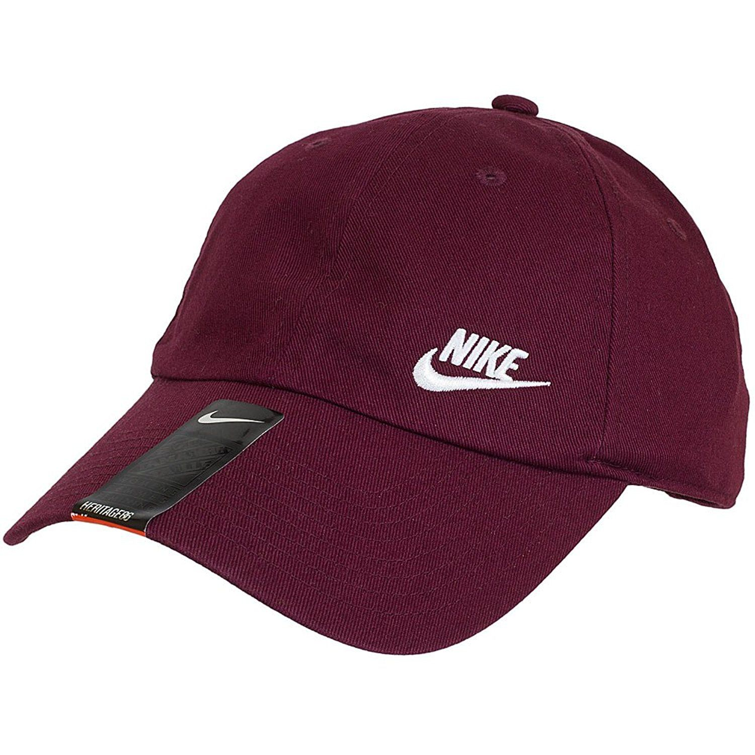 9c5a700094c Amazon.com  Nike Women s Twill H86 Women s Maroon Baseball Cap Burgundy   Sports   Outdoors