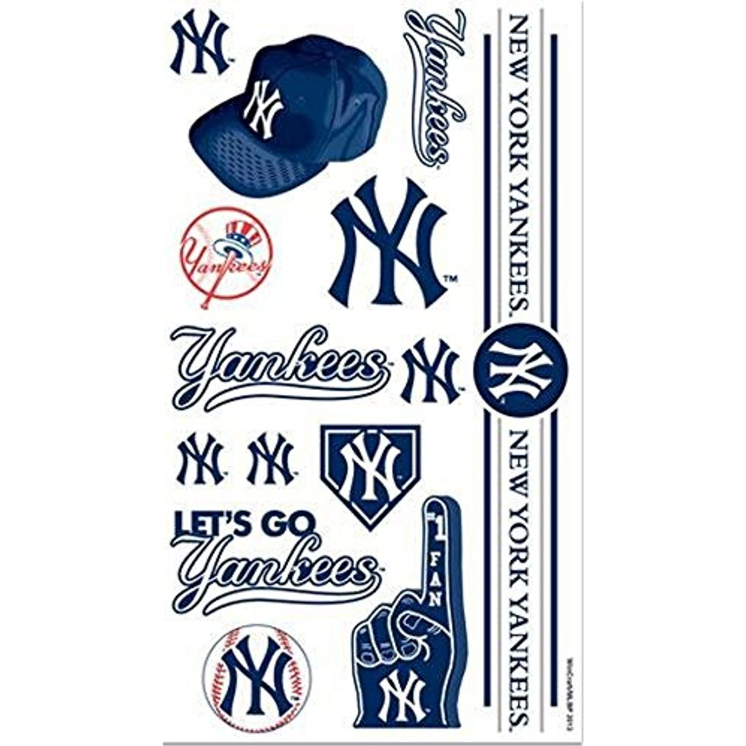 New york yankees tattoos click image for more details