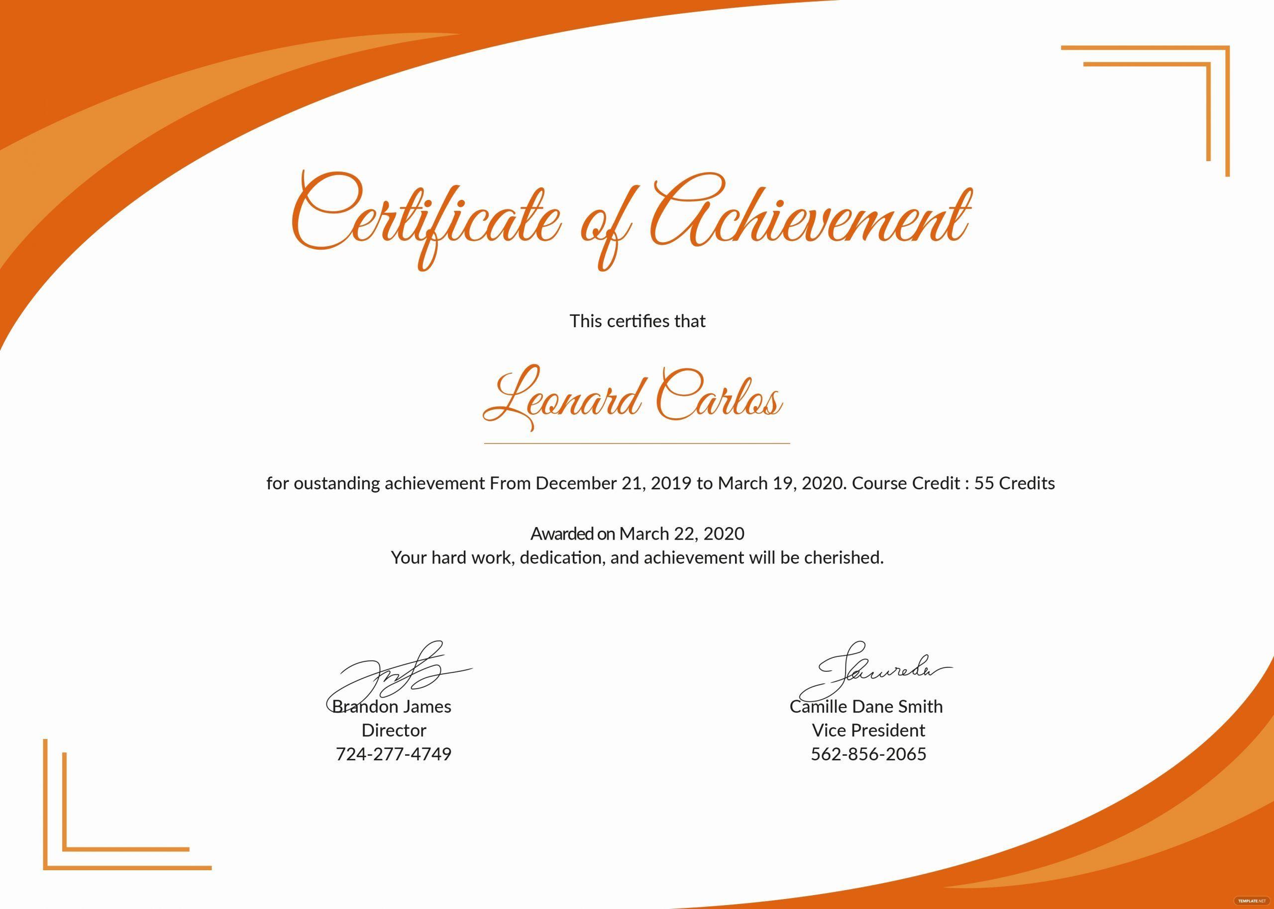 Microsoft Publisher Certificate Template Beautiful